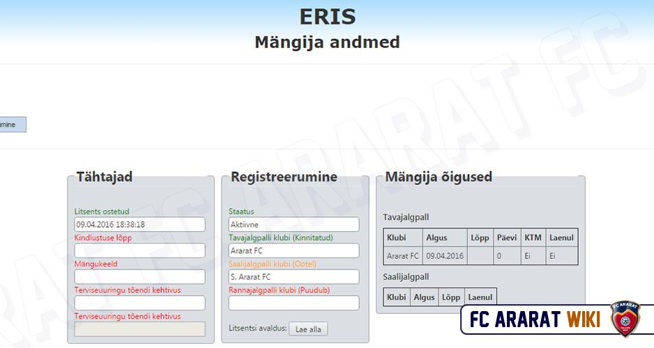 ERIS_mangija_registreerimise_kinnitus