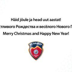 Чудесного Рождества и счастливого Нового Года!