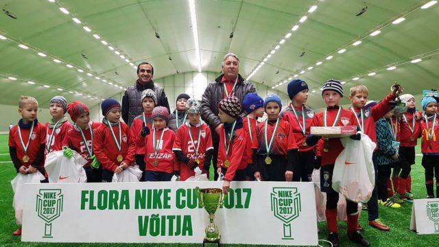 """""""FLORA NIKE CUP 2017"""" VÕITJAD"""